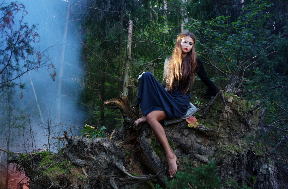 """L'escargot Ivre Photography's Annual """"Winter Witches Picnic Shoot"""